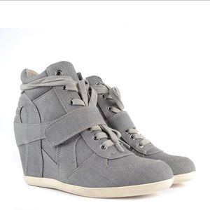 ASH Bowie Sneaker Wedges Limited Edition sz 37